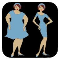 Effective weight loss tips app logo