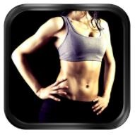 Fat burning weight loss app logo