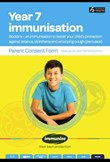 Year 7 immunisation for tetanus, diphtheria and whooping cough (pertussis) (BOOSTRIX™ Vaccine)