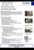 Hand washing & hygiene factsheet