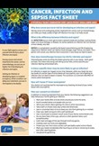 Cancer, infection & sepsis fact sheet