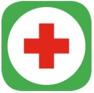 First aid and emergency app icon