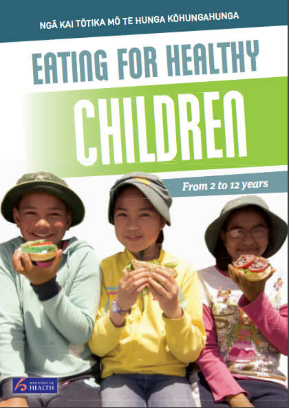 Eating for healthy children: 2-12 years