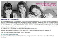 Familial breast cancer module