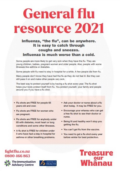 General flu resource