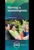 Having a mammogram