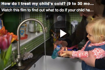 How do I treat my child's cold? (9 to 30 months)