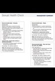 Chlamydia management guideline - summary for clinicians