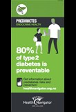 80% of type 2 diabetes is preventable