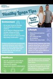 Erin & Isaac's healthy lung tips