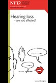 Hearing loss  – are you affected?