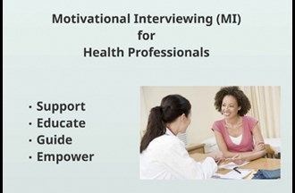 Motivational interviewing – for clinicians