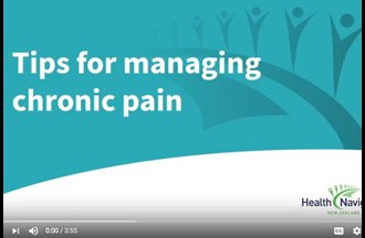 Pain - 10 tips for managing chronic pain