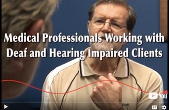 Deafness – Clinicians working with Deaf and hearing-impaired clients