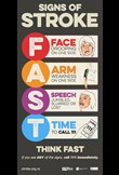 Signs of stroke – FAST