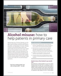 Alcohol misuse article