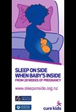 Sleep on side when baby's inside