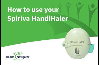 How to use a Handihaler