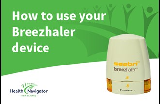 How to use your Breezhaler