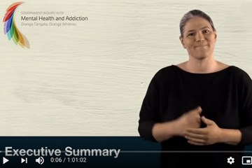 Mental health and addiction inquiry (NZSL & te reo Māori)
