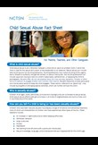 Child sexual abuse fact sheet