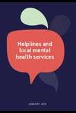 Helplines & local mental health services