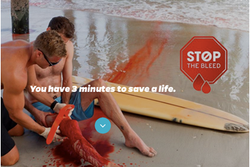 Lifesaving Stop the Bleed campaign launched