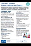 CMV fact sheet for pregnant women and parents
