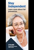 Stay independent - learn more about fall prevention