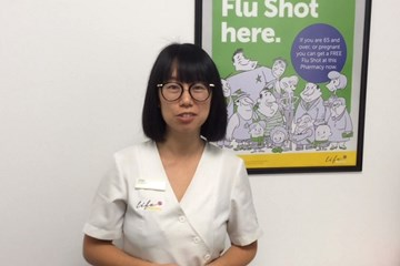 Flu vaccine Asian 65+ project