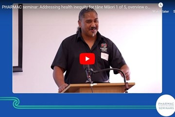 Addressing health inequity for tāne Māori