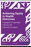 Achieving equity in health outcomes