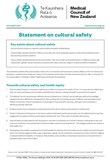 Statement on cultural safety