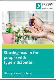 Starting insulin for people with type 2 diabetes - booklet