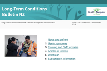 Long-Term Conditions Bulletin