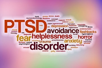 Post-traumatic stress disorder apps