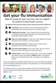 Flu vaccine for 65 and over